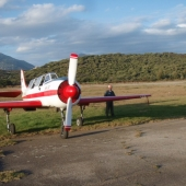 Yak aircraft ferrying